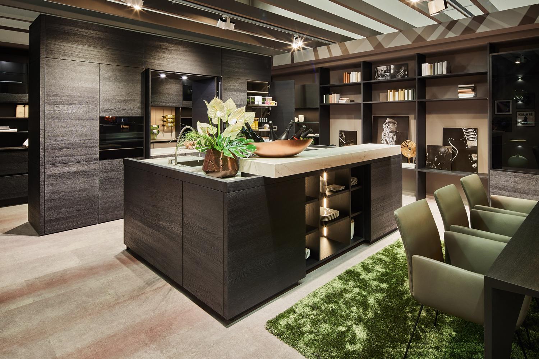 Bild einer modernen Küche