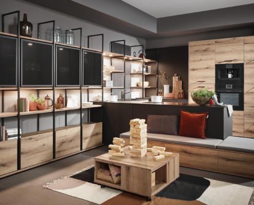 Küchenauswahl: LANA / FIORA